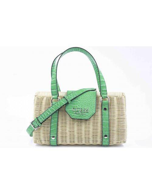 Bauletto Guess Paloma in rattan