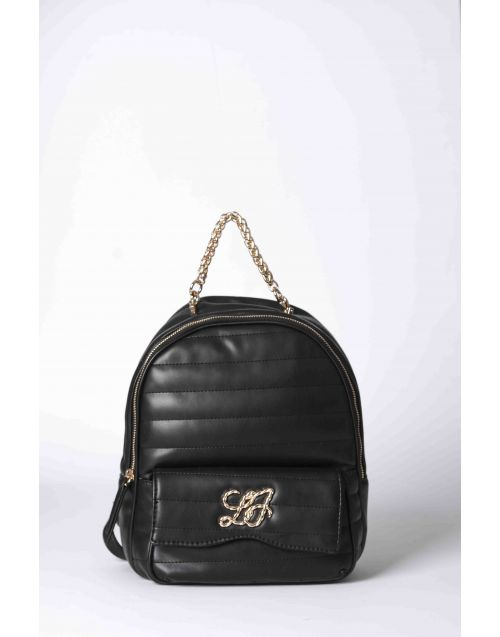 Liu Jo quilted backpack with front logo