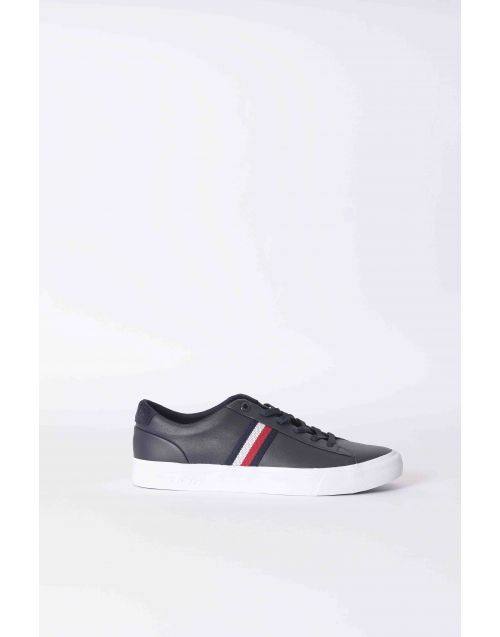 Sneakers Tommy Hilfiger Core in pelle con strisce laterali