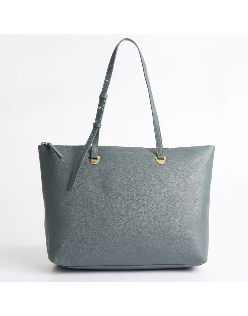 Coccinelle Lea shopping bag with zip closure