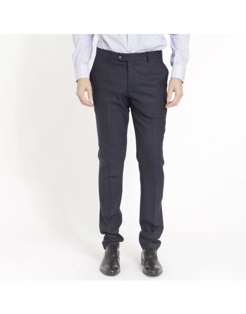 Gregory Sam trousers in pinpoint flannel