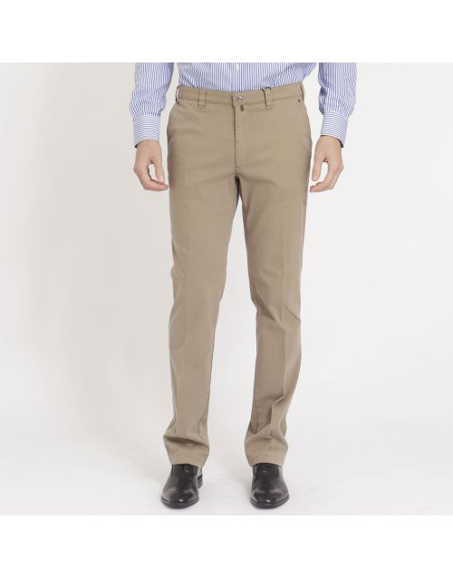 Gregory trousers with zip and button closure