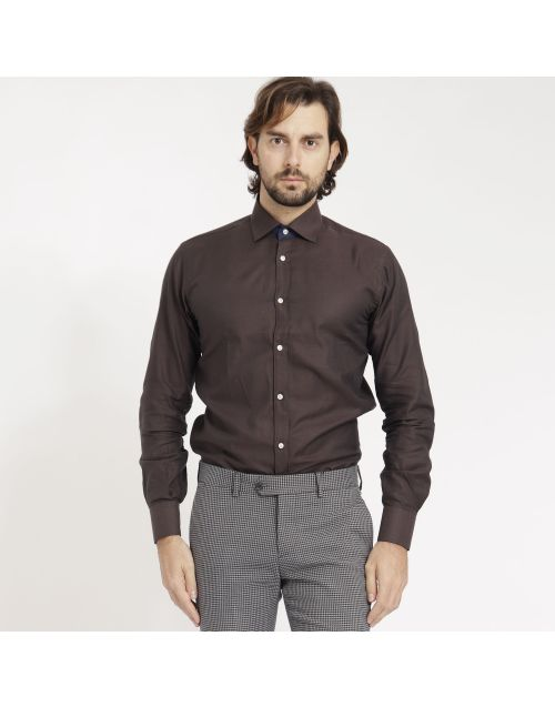 Gregory Queen shirt with contrast detail