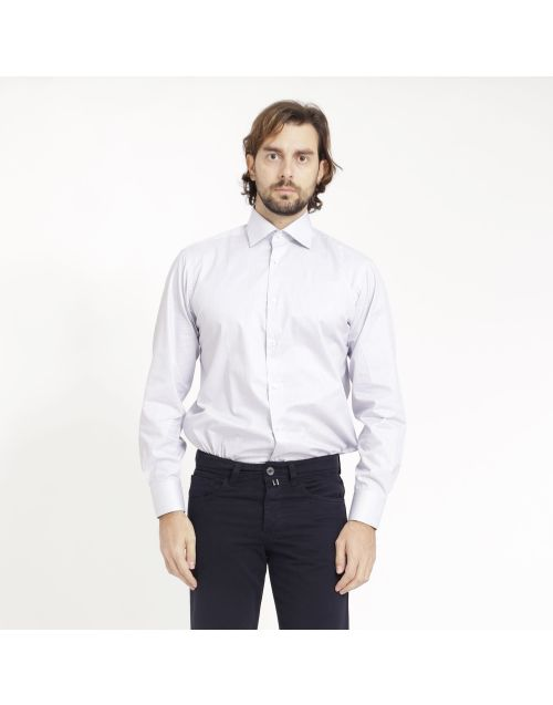 Gregory cotton shirt with stripes