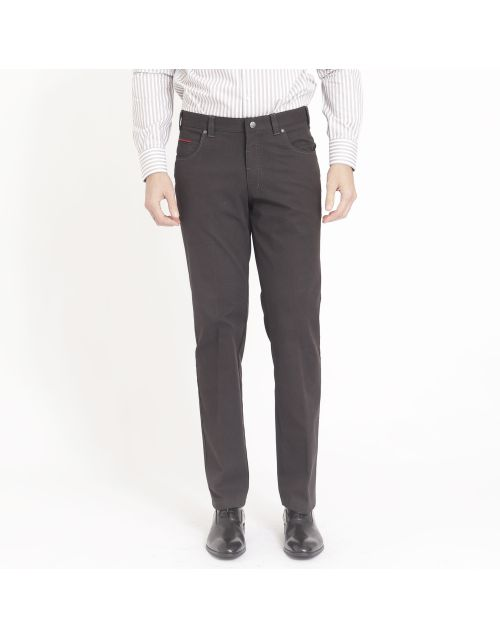 Gregory trousers 5 pockets in pinpoint cotton