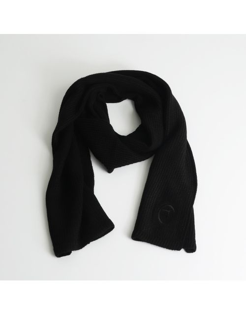 Trussardi scarf with embroidered logo